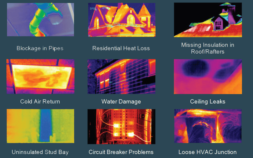 Home Inspection Results infrared camera inspection service - five borough home inspection